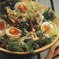 Salata de piept de rata si sos de mustar
